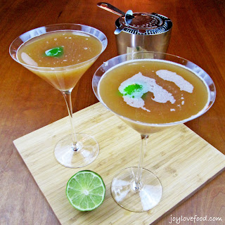 Blood Orange Juice Cocktails.
