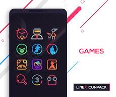 LineX Icon Packのおすすめ画像4