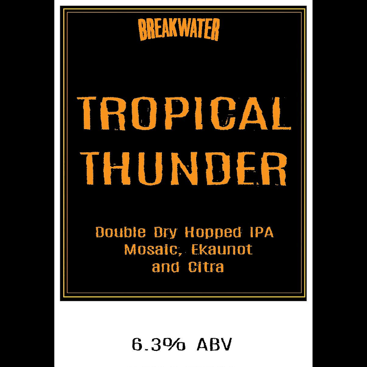Logo of Breakwater And Taproom Tropical Thunder
