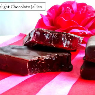 Turkish Delight Chocolate Jellies
