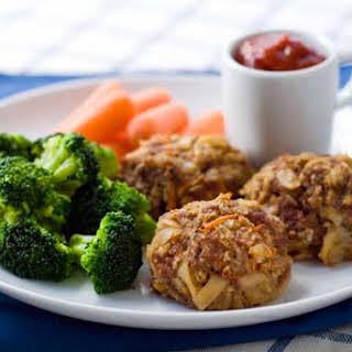 Gluten Free Mac and Cheese Meatballs.