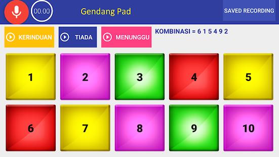 Gendang Electro Pad - náhled