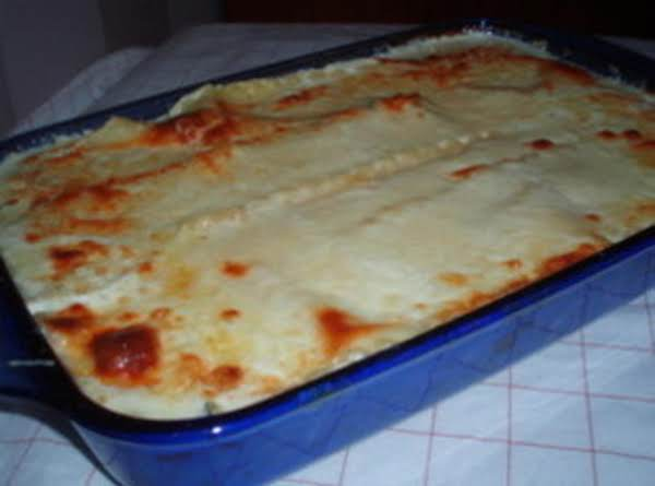 White Lasagna Recipe