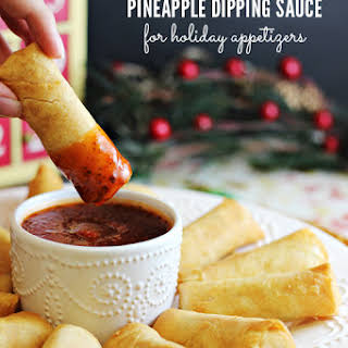 Sweet and Spicy Pineapple Dipping Sauce.