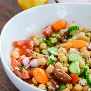 Lemony Chickpea Salad.