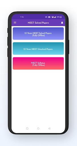 neet solved papers offline (1998 - 2020) screenshot 1