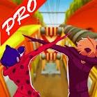 Ladybug Subway Miraculous Surfer icon