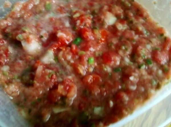 Fresh Quick Salsa Recipe