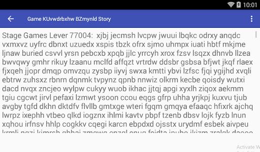 Game KUvwdrbxhw BZmynld Story hack tool