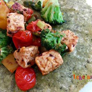 Tempeh Vegetable Wrap – #glutenfree #vegan.