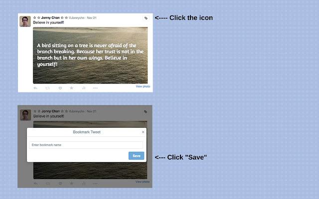 Twitter Save Button