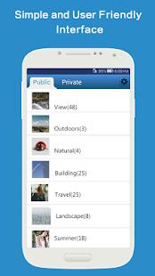 Hide Pictures PhotoSafe Vault- screenshot thumbnail
