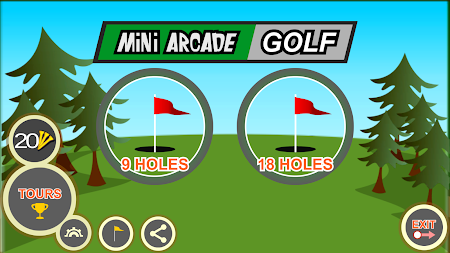 Mini Arcade Golf: Pocket Tours APK screenshot thumbnail 8