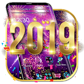 Happy New Year 2019 Theme Android APK Download Free By Fancy Theme Palace