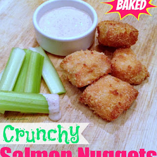 Healthy Salmon Nuggets