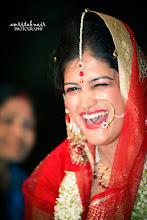 Photo: A happy bride is a beautiful bride.
