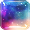 Galaxy Live Wallpaper HD Free icon