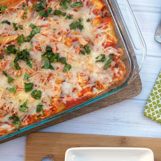 Easy, Cheesy Baked Ziti.