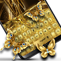 Gold Shine - Theme for keyboard icon