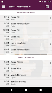 Barre 11 Fitness - náhled