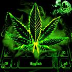 Neon Weed Keyboard Theme icon