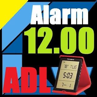 Alarm ADL - náhled