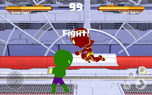 Super Heroes Fighting  captures d'écran 2
