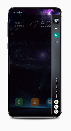 Screenshot for Music Player style S10 EDGE (PRO) in United States Play Store