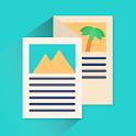 Brochure Maker - Pamphlets, Infographics, Catalog icon