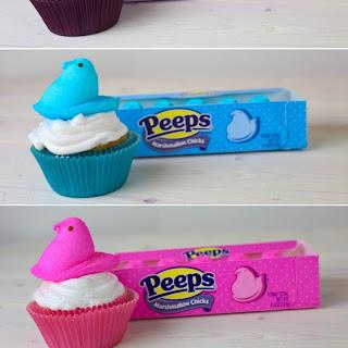 Peeps Cupcakes.