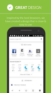 Free Adblocker Browser - Adblock & Popup Blocker Screenshot