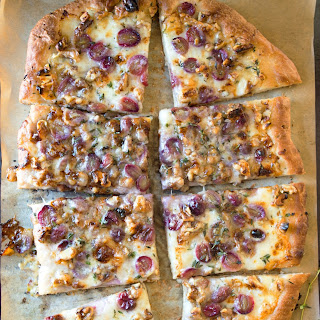 Grape and Taleggio Flatbread
