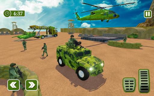 Army Car Transporter 2019 : Airplane Pilot Games 1.2 screenshots 2