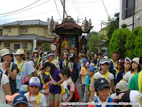 Photo: 【平成23年(2011) 本宮】  本久地区の山車の運行。
