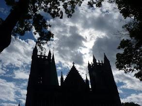Photo: Ab dem 12. Jhdt. über dem Grab Olavs des Heiligen im anglo-normannischen und gotischen Stil erbaut.