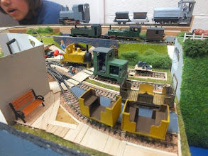 Photo: 014 An 09 terminus diorama by Toby Hollins featuring scratchbuilt, 3D and etched models .