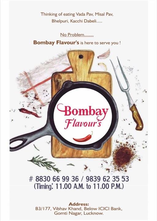 Bombay Flavours menu 1