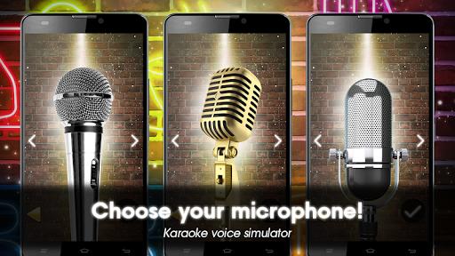 Karaoke voice sing & record screenshot 1