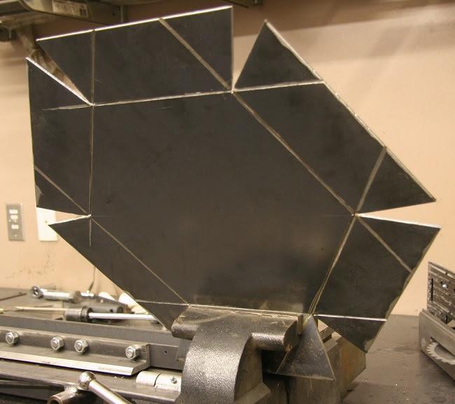 Radbend для гибки листового металла.