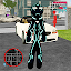 Neon Iron Stickman Rope Hero City Gangstar Mafia