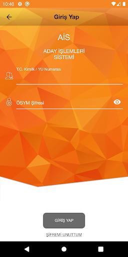 ÖSYM Aday İşlemleri Sistemi screenshot 2