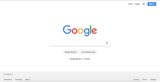 navegador google