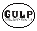 Logo for Gulp Restaurant & Brew Pub