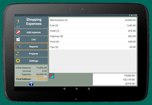 Shopping Expenses screenshot 14