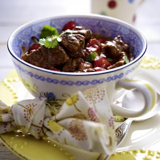Beef Stew with Coconut MIlk.