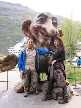Photo: The troll of Geiranger