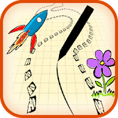 Scribble Racer☆Fun Simple Game