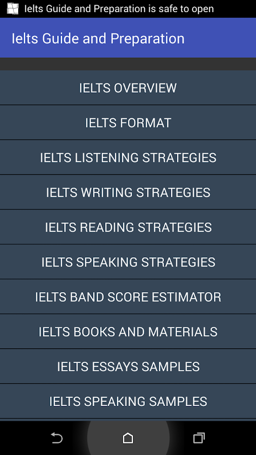 IELTS Test Guide & Preparation