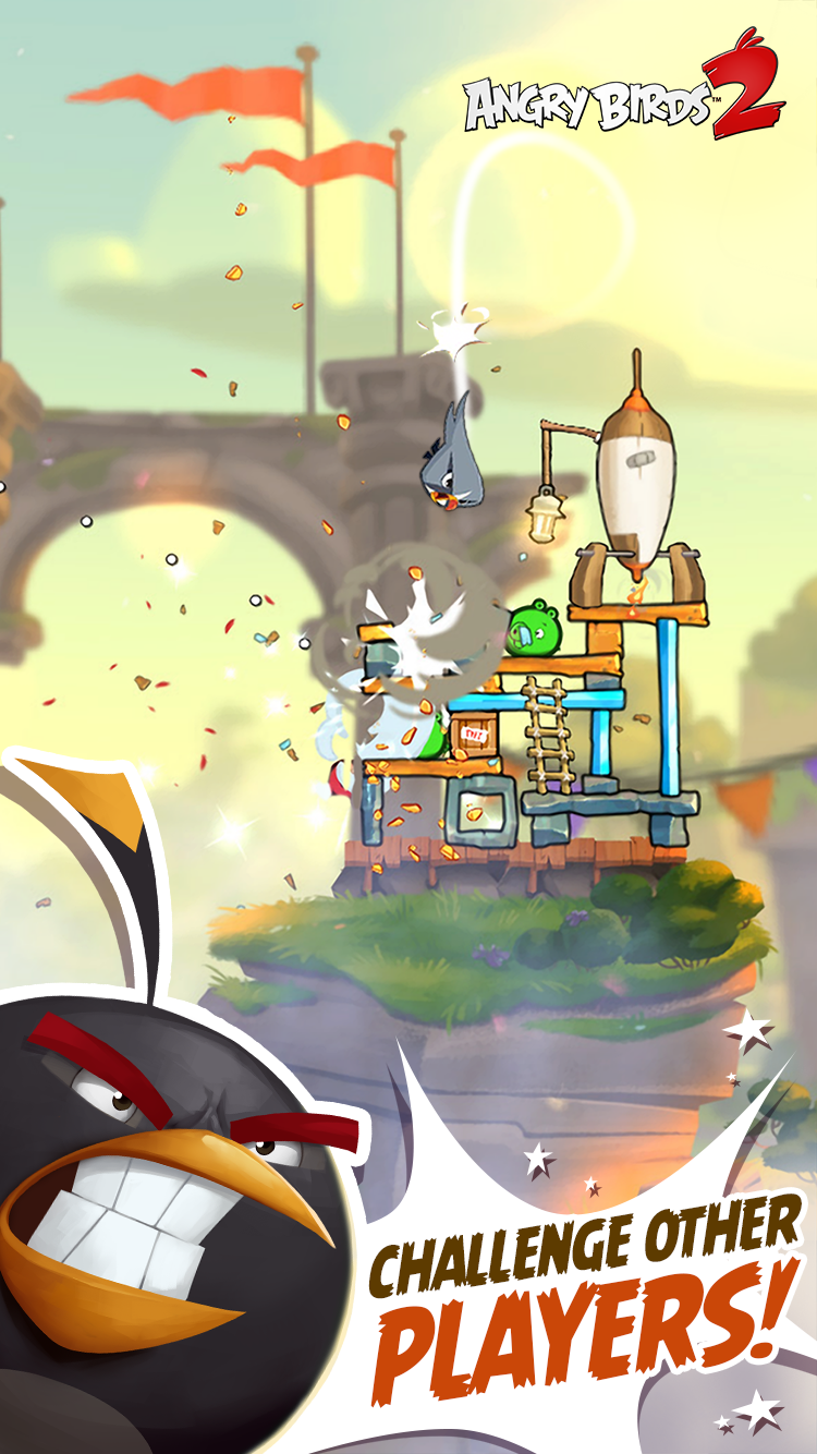 Angry Birds 2 screenshot #2