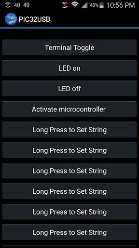 PIC32USB USB Communication